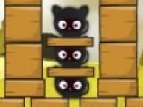 Игра кошки против собак очень похожа на игру, в которой главными героями стали злые птицы, охотящиеся на свиней. Цель этой игры разрушалки прицельно стрелять из рогатки, что бы прогнать всех кошек. Используйте мышку, что бы выбрать угол и силу выстрела.