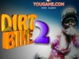 Dirt Bike 2 - это игра, которая заставит Вас продемонстрировать все свое мастерство управления внедорожным мотоциклом. Трасса, которую вам придется проехать за ограниченный промежуток времени, полна препятствий. Их необходимо преодолеть так, что бы мотоцикл не перевернулся.