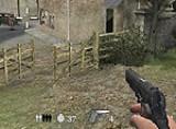 В вашем распоряжении лишь пистолет и вы должны доказать свою меткость, отстреливая появляющихся немцев. Бегают они довольно быстро и у Вас будет немного попыток попасть во врага.