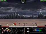 В этой тактической игре Вы можете играть за нежить или средневековых рыцарей. Посылайте отряды войск для уничтожения базы противника. Делайте апгрейды и не дайте врагу уничтожить вашу цитадель!