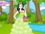 Помогите Белоснежке подобрать платье и прическу для первого свидания с принцем. все должно выглядеть безупречно, что бы он влюбился в нее с первого взгляда.