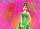 Не поверишь, но сегодня у Барби День рождения. Присоединяйся и будь желанной гостей на примерке новых платьев Барби.