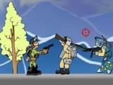 Вы играете за бравого спецназовца, который вооружен разнообразным оружием и крушит врагов направо и налево. Чтоб перейти на следующий уровень, все враги на предыдущем уровне должны быть уничтожены!