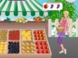 В этой игре Вам предстоит обслуживать клиенток фруктового магазина. Девушки приходят к вам за самыми вкусными фруктами, но им не нравится долго ждать свой товар. Вы должны обслуживать их быстро, что бы Ваш бизнес приносил прибыль.