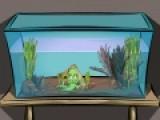 Вы любите рыбок. Но Вас нечаянно заперли в комнате с аквариумами. Ваша задача найти выход из этой комнаты. Для этого используйте все предметы, которые сможете найти.