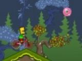 Цель игры The Simpson Bike помочь Барту Симпсону преодолеть весь путь на своем спортивном байке, собрать максимум бонусов и не перевернуться. Ведь ехать он будет не по ровной трассе где обычно проводят велогонки, а на абсолютном бездорожье.