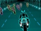 Гонки на мотоциклах очень впечатляющее зрелище. Ты же примешь участие в неоновых гонках по ночным трассам. Постарайся обогнать соперников, что бы прийти к финишу самым первым.