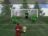 Футбол с Сантой - это спортивная онлайн игра для мальчиков про футбол. В ней Вы будете управлять при помощи мыши Праздничным стариком. Ваша цель забить как можно больше голов команде эльфов.
