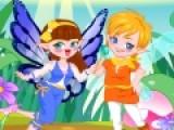Юная фея собралась сегодня собралась на первое свидание. Помоги ей подобрать подходящую одежду.