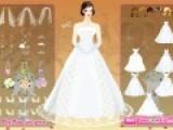 Прекрасная бесплатная игра для девочек про красавицу невесту. Помогите ей подобрать свадебный наряд , что бы она стала самой красивой.
