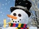 Идеальный снеговик для каждого выглядит по своему. В этой игре предлагаем Вас создать снеговика Вашей мечты. А если Ваш шедевр удастся на славу, картину можно распечатать и использовать в качестве новогодней открытки для друзей.