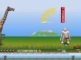Yeti Sports теперь играет в гольф! Лунок не будет, тебе нужно как можно дальше зашвырнуть пингвина, стараясь выбирать такую силу удара, чтобы пролететь мимо естественных препятствий.