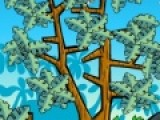 Помогите птичке добраться до верхней ветки и сорвать вкуснейший манго. Но на пути у нее много препятствий. Преодолейте их вместе.