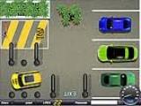 Это игра отличается от подобных тем, что в ней Вам придётся не только припарковаться возле клиента, но и суметь выехать на своём такси к выходу!