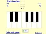 Правила онлайн-пианино очень просты. Нажимаете на кнопку Play – проигрывается звук пианино. Ваша задача – распознать, какая нота была сыграна. Как только вы «расслышали» ноту, нажимайте на клавиатуре соответствующую этой ноте букву.
