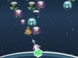 Перед Вами игра как две капли похожая на классическую игру пузыри. Цель этой игры убрать все шарики с игрового поля. Для этого стреляйте из пушки шариками. Когда шарики с одинаковым рисунком соберутся в группу из трех и более, они лопнут как пузыри.