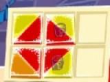 Перед вами не простая задача. Вы должны расположить все квадратики в ячейки. Но как это сделать ты должен догадаться самостоятельно. Если Вы умеете и любите логически мыслить, то эта головоломка не покажется Вам сложной.