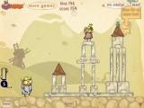 Далеко, далеко есть одинокая башня. И, конечно, вы должны уничтожить её, чтоб освободить красивую принцессу! Кстати, старайтесь не убить принцессу, а поймать её!