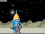 Перед Вами прикольная леталка, которая потребует от вас не малой ловкости, для управления полетом собаки космонавта. Помогите Щенку собрать свой космический корабль, что бы путешествовать по разным планетам. Старайтесь не сталкиваться с различными летающими объектами.
