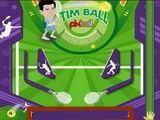Классический аркадный пинбол с темой тенниса.