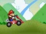 Марио решил принять в соревнованиях. Он выбрал гонки. Помоги герою обогнать соперников и прибыть к финишу первым.
