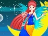 Перед Вами игра одевалка, в которой Вы должны будете одеть по своему вкусу сказочную лунную принцессу. Проявите все свое воображение при создании неповторимого образа.