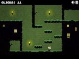 Очередная отличная игра, управляемая одной кнопкой мыши! Кнопка  мыши может совершать разные действия в разных уровнях: удар мечом, прыжки, бег, смена направления движения и другое.