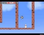 Отличная физическая игра! Кликаем мышкой и создаём мини-взрыв, сила которого гоняет мяч по уровню, и сбиваем кегли, которые, как назло, находятся в самых труднодоступных местах.