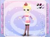 Попробуйте себя в роли стилиста Алисы в Стране Чудес. В игре - множество одежды на выбор и только Вы решаете, на кого будет походить Алиса - на Безумную Шляпницу, Белую Крольчиху или Чеширскую Кошечку.