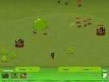 Очень забавная игра про войну жуков. Стройте здания, делайте армию и уничтожайте базы других жуков