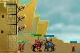В игре вы должны оборонять замок от нашествий лучников, мечников и т.д. Начиная с одной пушки на замке и одного вида пехотинца вы можете дойти до 3 пушек и всё новых и новых видов пехоты. Враг тоже прогрессирует и отправляет  новые войска.