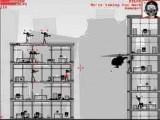 Стикмены-террористы захватили здания в городе. Садитесь в вертолет, напичкайте свой боезапас всевозможными убийственными вооружениями и вперед - очищать город от врагов! По мере игры можно улучшать арсенал и качества Вашей летающей машины.