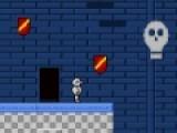 Сокровище башни - это увлекательная игра бродилка написанная в стиле первых игр платформеров. Вы будете управлять отважным рыцарем, который путешествует по башне с приведениями и монстрами. Управление осуществляется при помощи стрелок клавиатуры и кнопки Shift, которая  отвечает за прыжки.