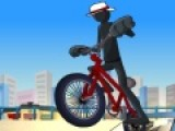 Велогонки это не обязательно соревнования на скорость. Иногда это просто состязания ловкости управления велосипедом. Прими участие в гонках по бездорожью и покажи, на сколько хорошо ты управляешь велосипедом.