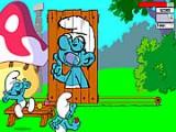 Смурфики придумали забавную игру - бросать шарики, через движущуюся на рельсах картину одного из своих собратьев. На каждом уровне вы должны набрать 10 очков. Но учтите - время ограничено!