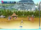 В этой игре Вам нужно набивать футбольный  мяч. Старайтесь не дать мячу упасть на песок и получите как можно больше очков!