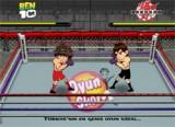 В этой Бакуган игре онлайн Вы будете проводить боксерский поединок между Деном и Беном. Управление: Клавиши управления B,N,M – удары, пробел – поставить блок, перемещение по рингу - стрелки.
