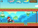 Марио должен переехать с одной стороны холма на другую, но перед ним опасный путь - ловушки, пропасти и много еще чего. Помогите Марио решить головоломки, связанные с гравитацией, устранением предметов с его пути и изменением их формы!
