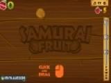 Многие самураи тренируют скорость и точность владения мечем именно на падающих фруктах. Попробуй сделать это и ты. Используй свою мышь вместо меча для того что бы разрубить как можно больше падающих фруктов.