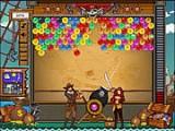 В этой игре пузыри нападают на пиратов, за которых Вам предстоит играть. Отстреливайтесь из пушки по группам из трёх и более пузырьков одного цвета.