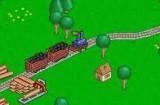 Вы основали железнодорожную компанию в  долине с быстро развивающимся бизнесом. Объедините постройки сетью железных дорог и обеспечьте доставку грузов по расписанию.