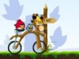 Злые птицы устали стрелять по свиньям из рогаток. Они пересели на велосипед и решили их раздавить. Твоя задача помочь им не перевернуться во время этой смертельной гонки.