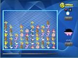 В этой игре про Покемонов Вы должны соединить линией двух или более персонажей, но запомните, вести линию можно только через пустые места на рисунке!