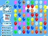 В этой игре Вы будете лопать воздушные шарики. Для этого двигайте их так,что бы тир одинаковых шарика выстроились в ряд.