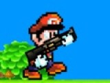 Сказочным монстрам предстоит увидеть Марио в гневе. Он идет не останавливаясь и убивает все на своем пути. Твоя задача помочь Марио. При помощи мышки ты можешь стрелять. Управлять движениями Марио могут кнопки - A, W, D.