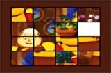 В этой игре ты должен помочь Лунтику собрать пятнашки с Бабой Капой.
