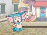 Яркая игра с мультяшным персонажем как нельзя лучше подходит для детей. Пройдите все уровни и соберите волшебные сферы. Управляйте героем при помощи стрелочек и постарайтесь не врезаться в грибочки. Отправляйтесь в приключения с веселым персонажем.