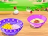 Перед Вами отличная онлайн игра для девочек, которые любят готовить. В процессе игры они смогут узнать новый вкусный салат. А приготовление еды не вызовет затруднений, так как наш повар подскажет, что нужно делать.