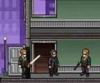 В этой игре по фильму Матрица вы играете за Нео и Вам будут противостоять люди в черном и ужасные осьминогоподобные механизмы. Используйте силу и супер-способности Нео для того, чтоб Матрица была очищена от враждебных существ!