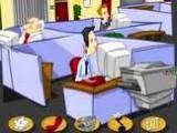 Посмотрите, чем занимаются ваши работники в рабочее время! Полный беспредел в кабинете, но до тех пор, пока не вернется начальник...